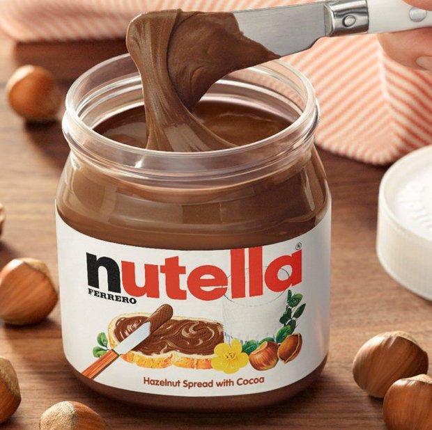 Etiquetas Nutella® personalizadas