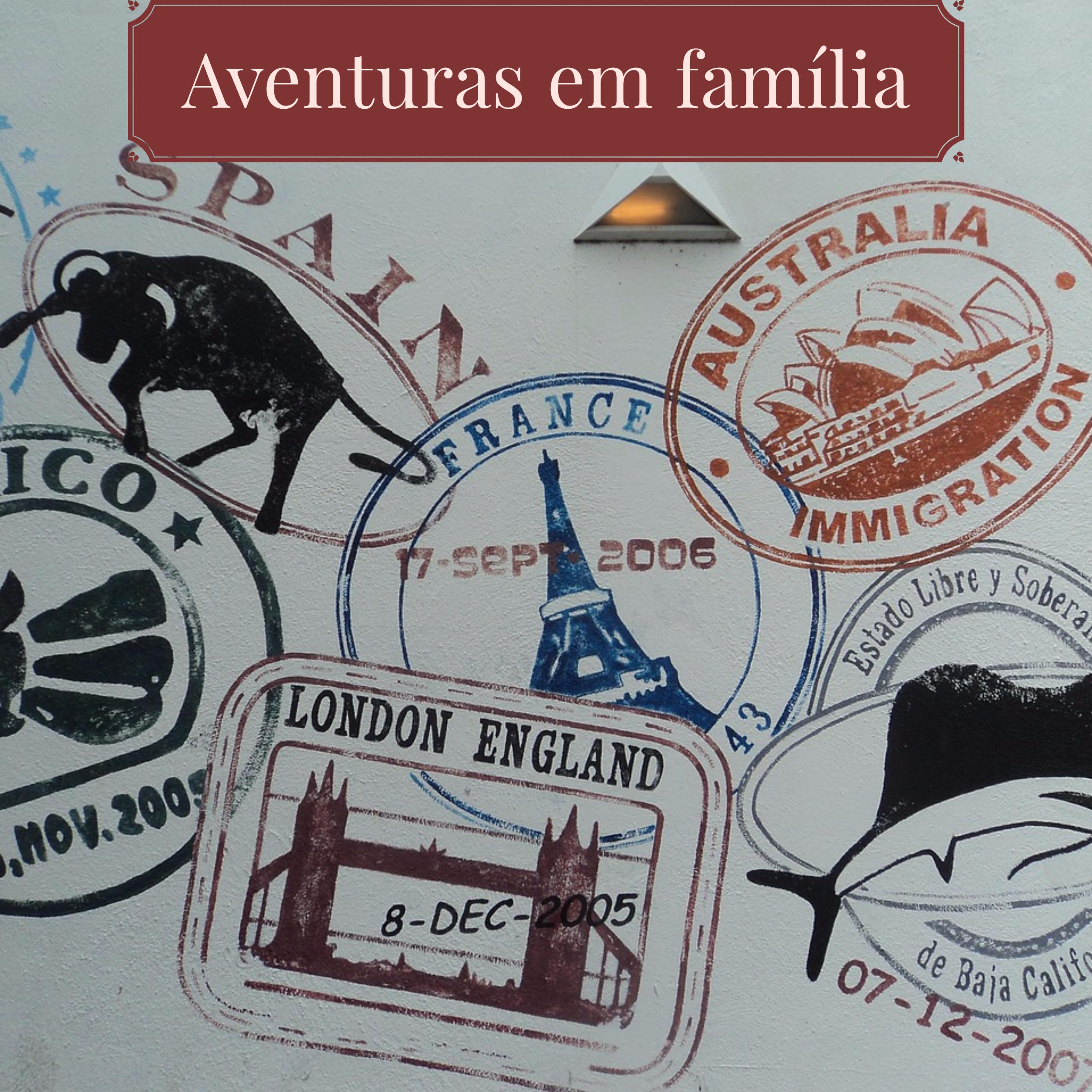 Passaporte de Aventuras em Família