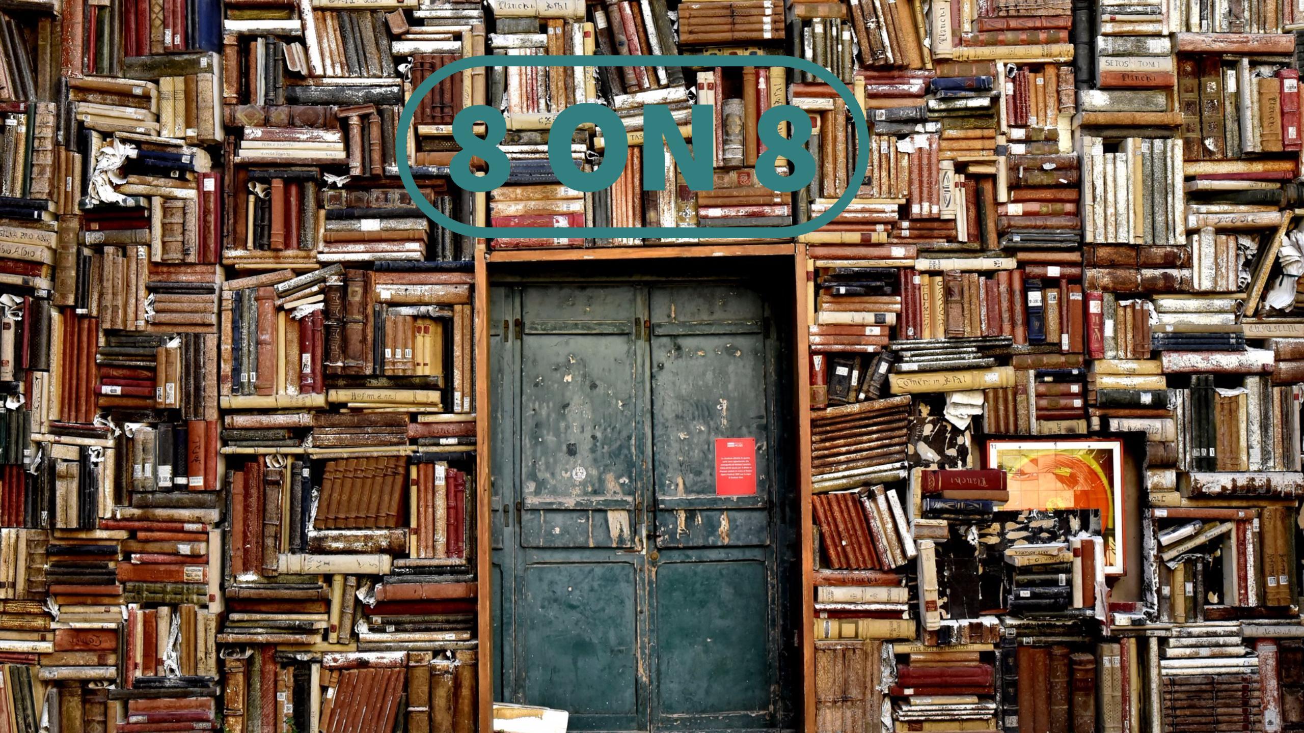 8 on 8: 8 livros que não podem passar deste verão