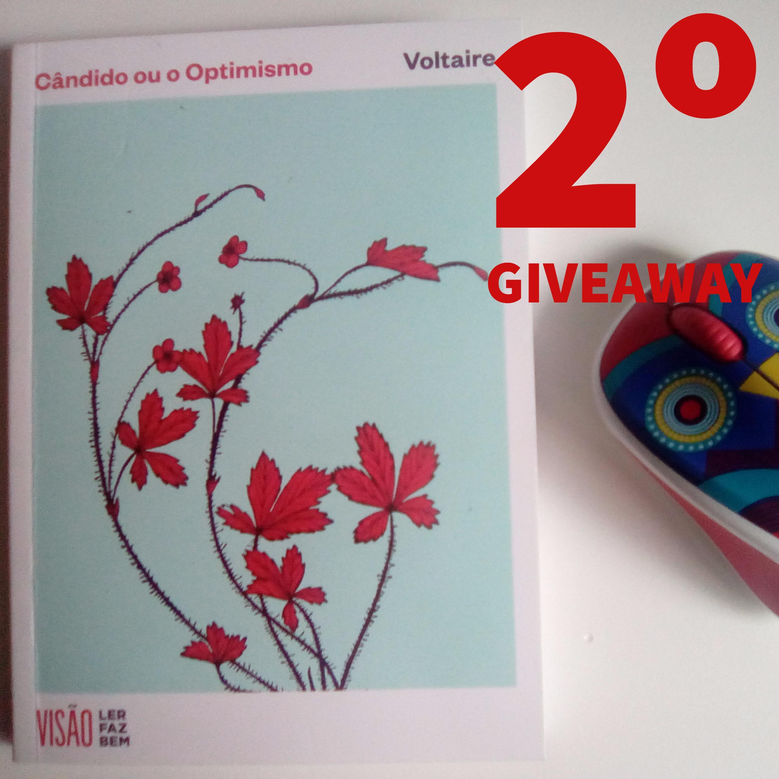 2º Giveaway – Cândido
