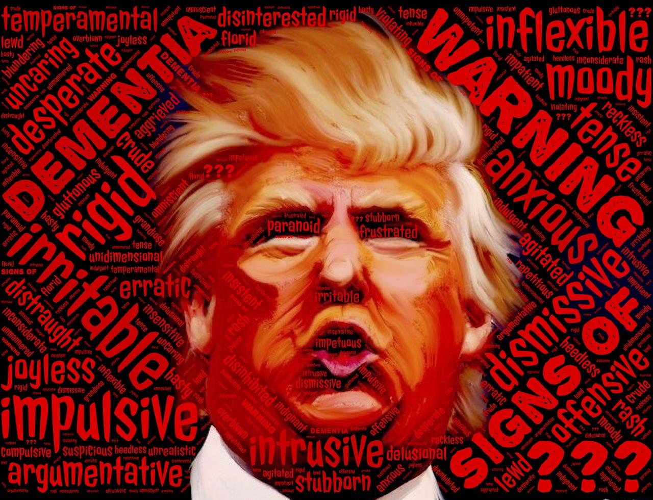 Uma figura peculiar e singular por um dia: #Trump