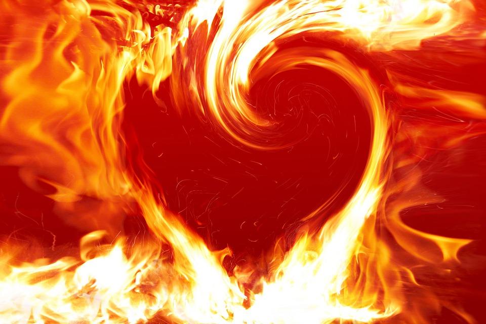 Fogo que arde e se vê