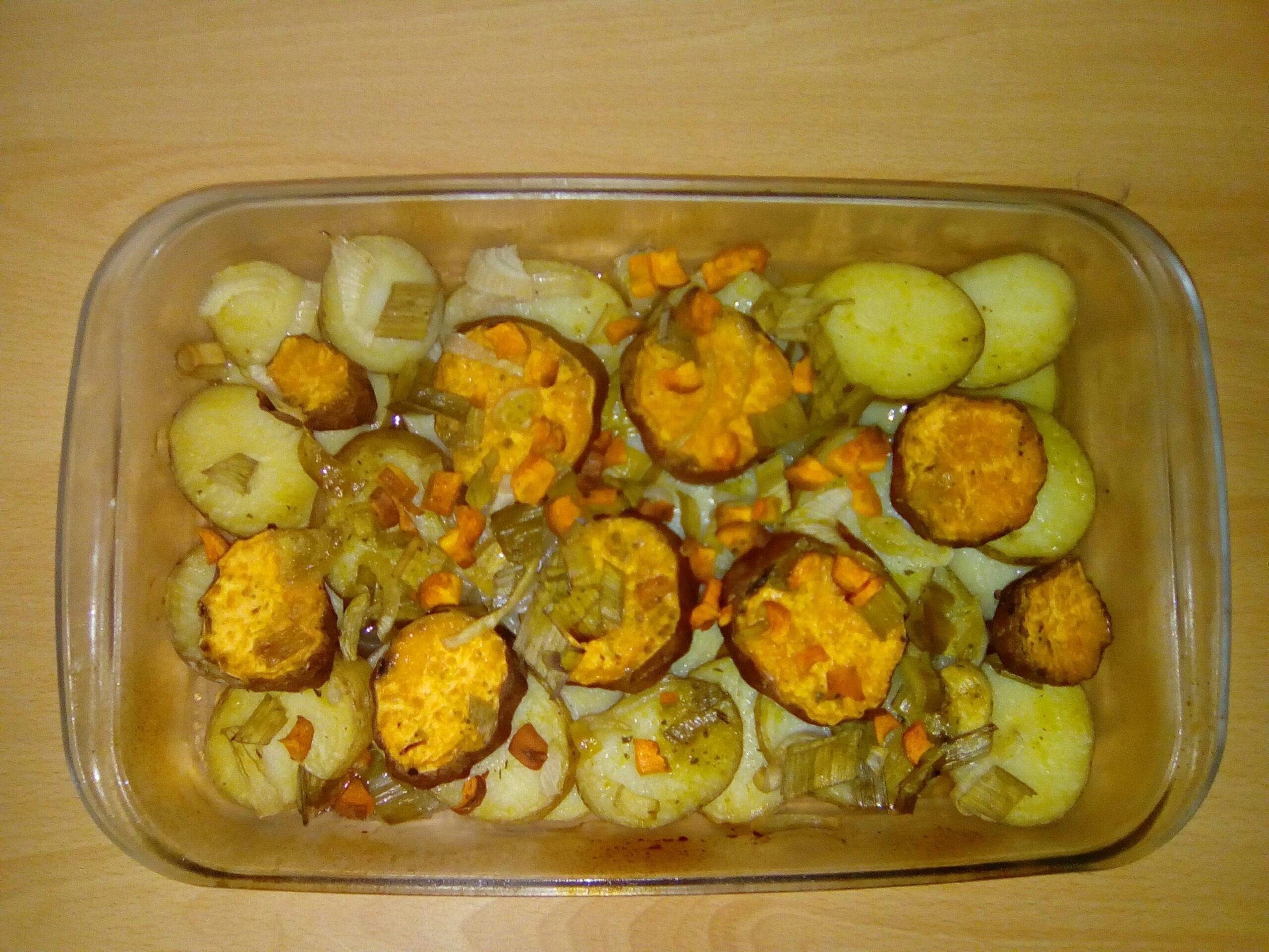 Batatas assadas para mamãs apressadas