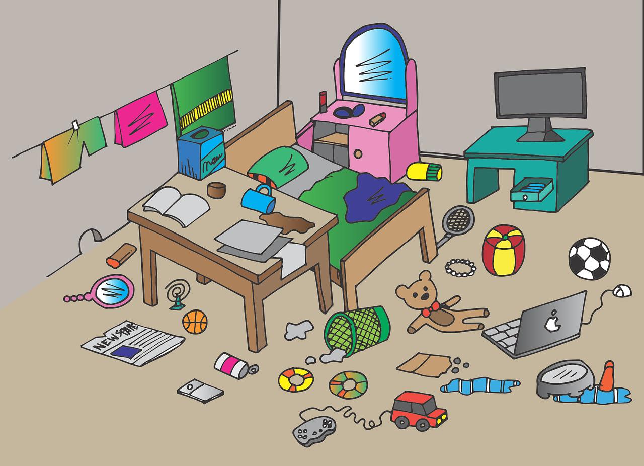 Guia de como arrumar o quarto para totós