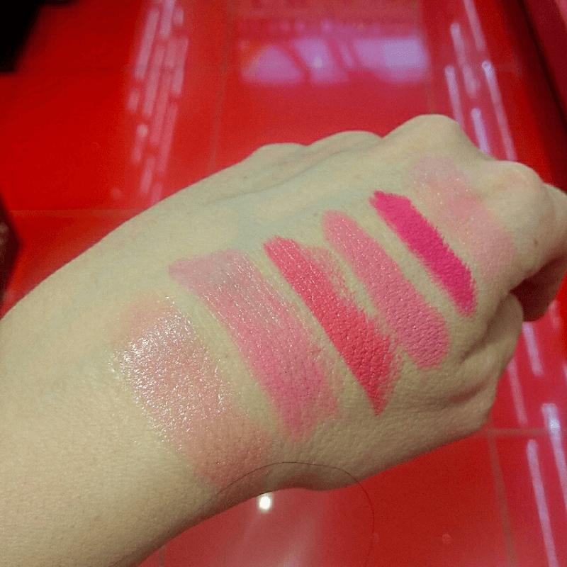 batons bonitos cor de rosa que ficam bem em qualquer pessoa