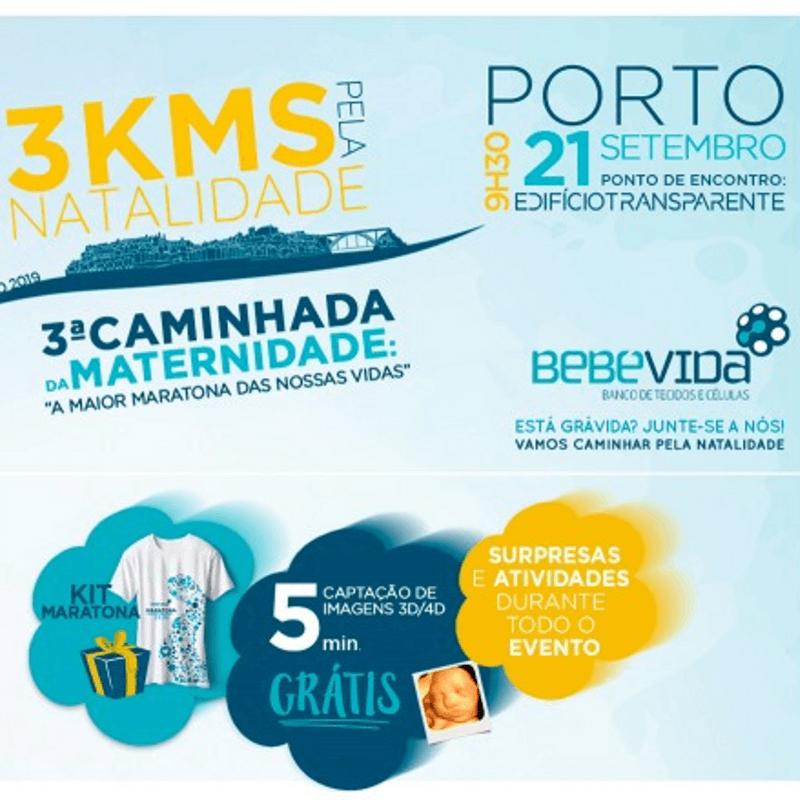 3.ª Maratona da Maternidade no Porto