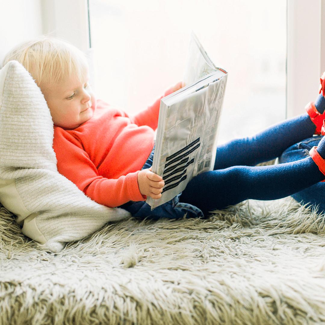 Livros infantis outono