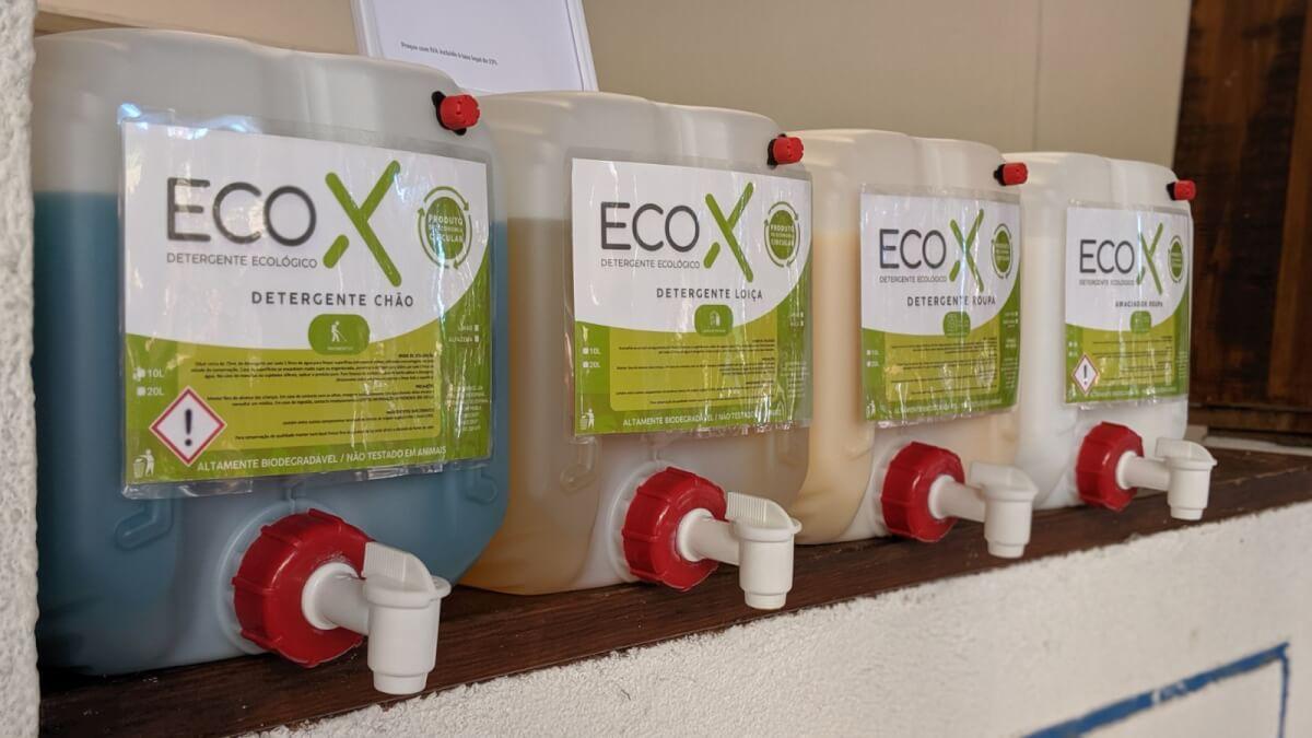 O que faz a EcoX com óleo alimentar usado?
