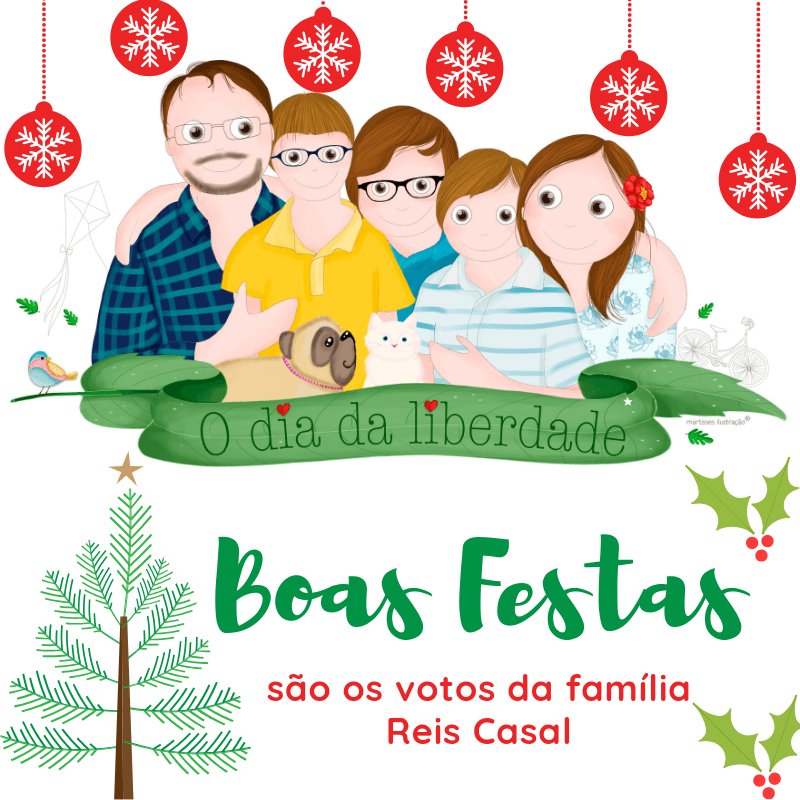 Feliz Natal da Família Reis Casal