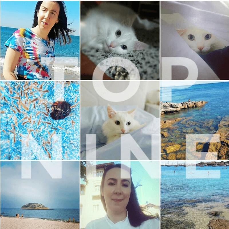 Uma volta a 2019 através do Instagram