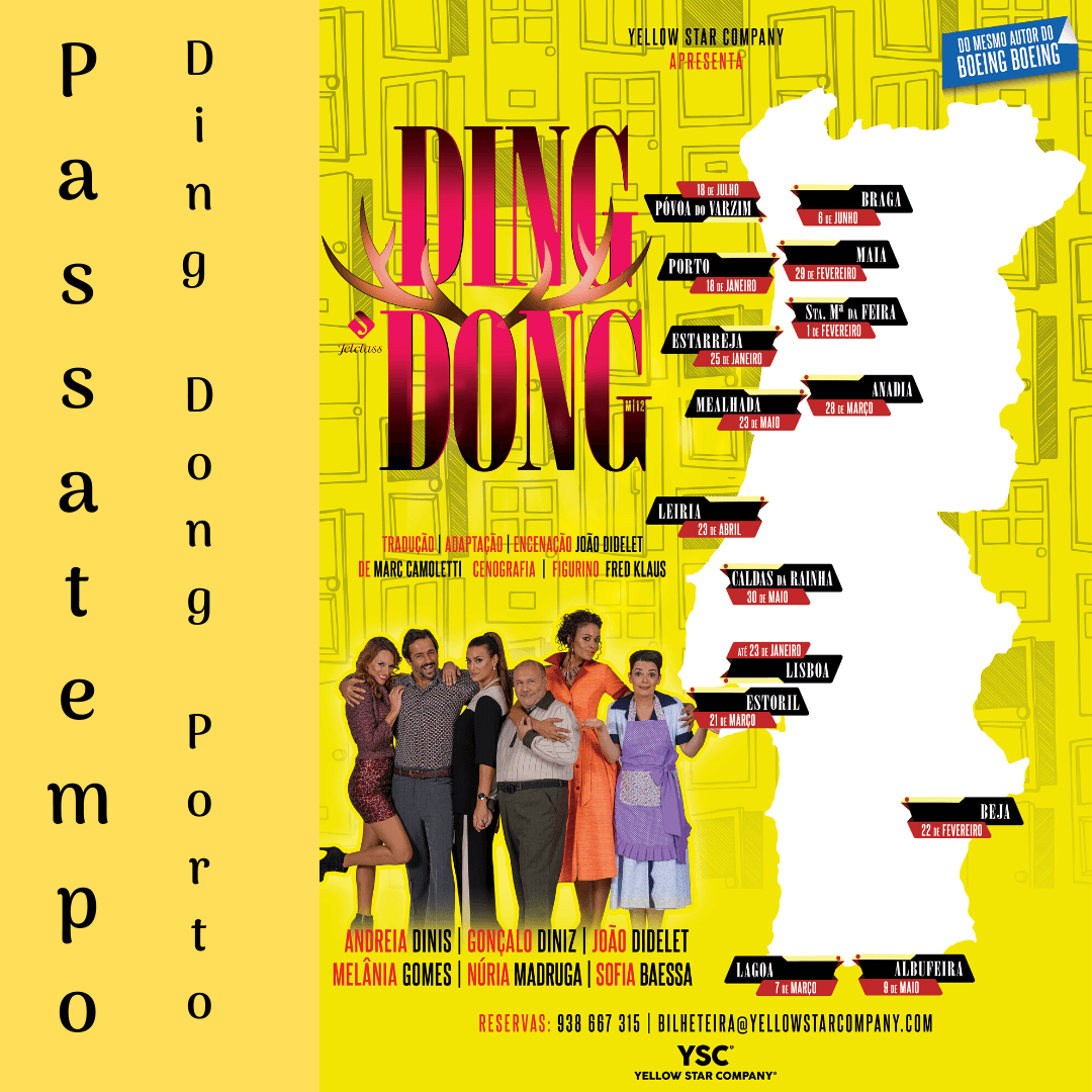 Vencedores para o Ding Dong no Porto