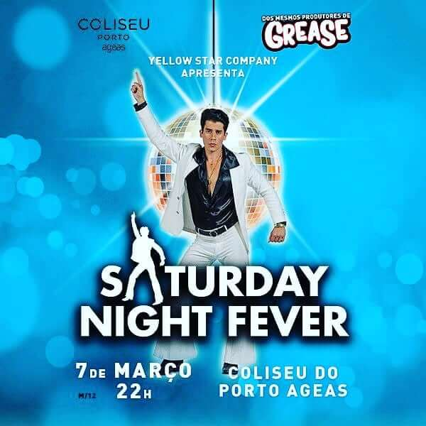 Vencedores para Saturday Night Fever no Porto