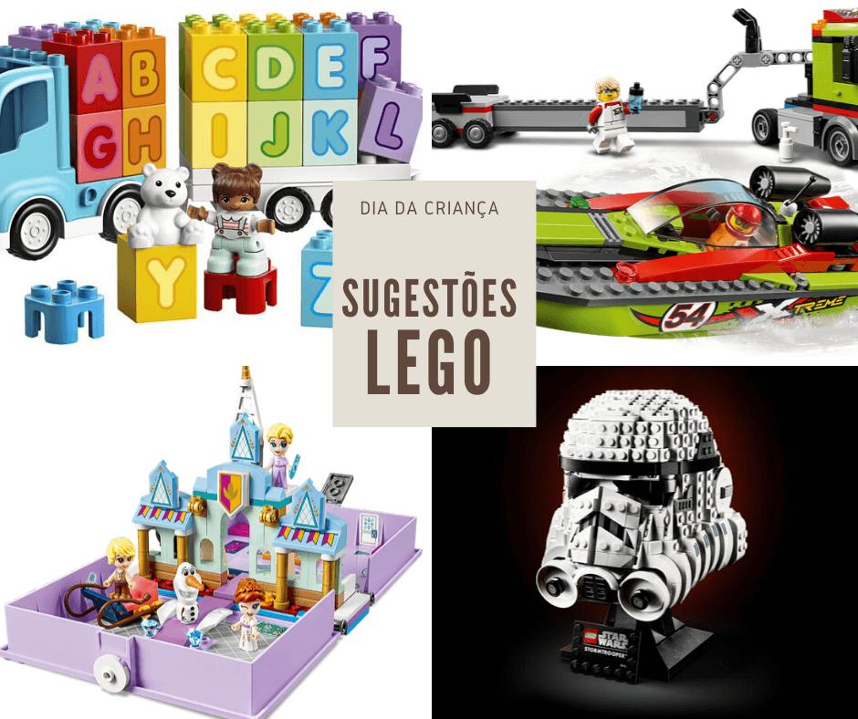 Aproxima-se o Dia da Criança, com Legos novos