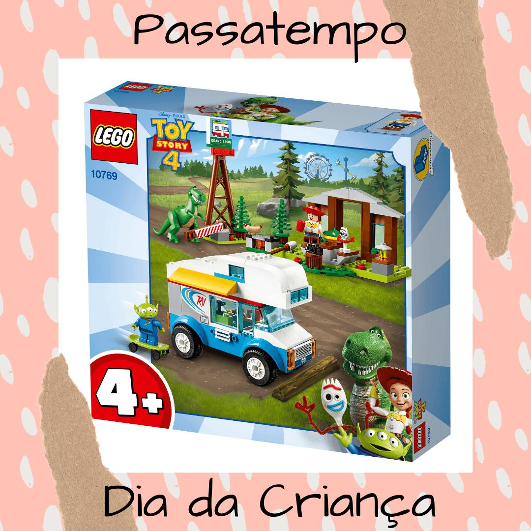 Passatempo Dia da  Criança – 3 sets LEGO®