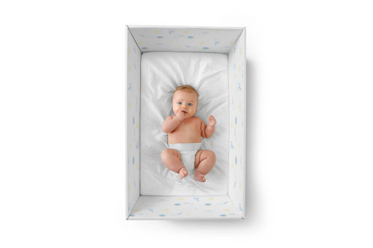 A Babybox, um berço acessível que se transforma