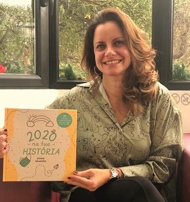 """Livro """"2020 na tua história"""" para o Dia da Criança"""